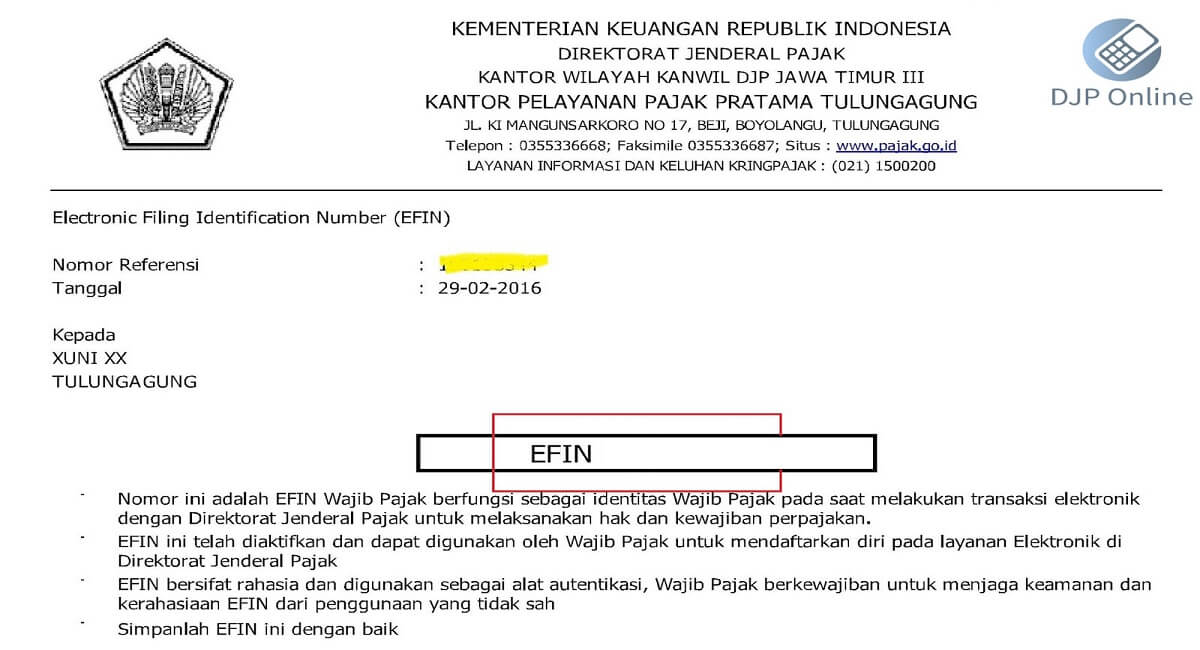 EFIN Number