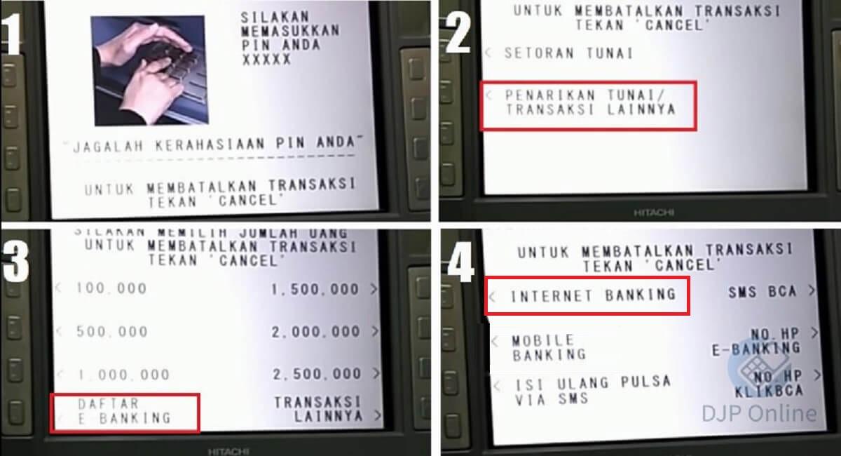 Dafter KlikBCA ATM 2020