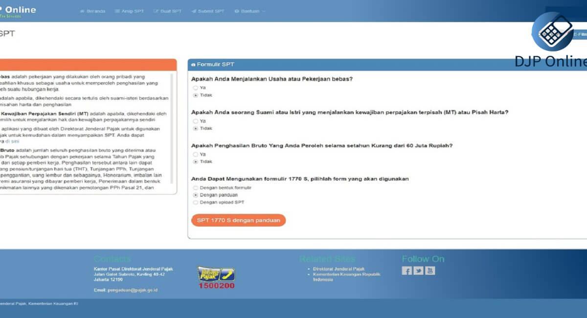 SPT Online submit  2020